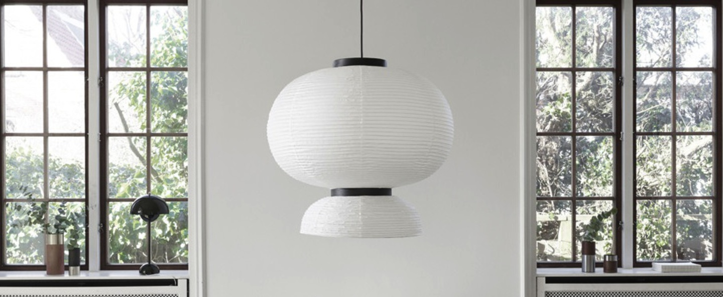 Suspension formakami jh5 blanc noir o70cm h67cm andtradition normal