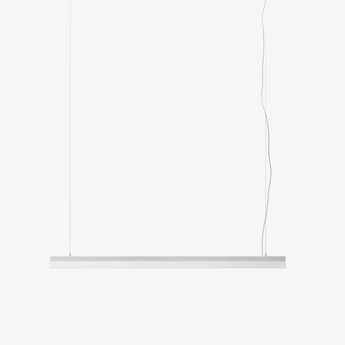 Suspension fornell blanc led l120cm h6cm andtradition normal