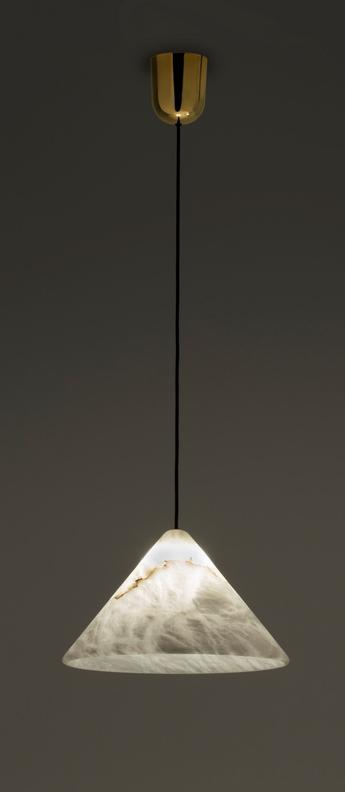 Suspension fuji blanc led 2700k 260lmo21cm h10cm alma light normal