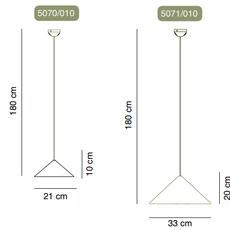 Fuji jordi llopis suspension pendant light  alma light 5070 010  design signed nedgis 114618 thumb