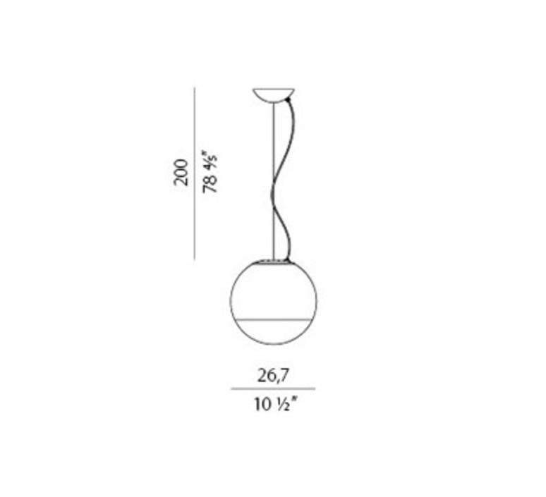 Fume 1 studio tecnico panzeri suspension pendant light  panzeri l01540 027 0200  design signed nedgis 83308 product