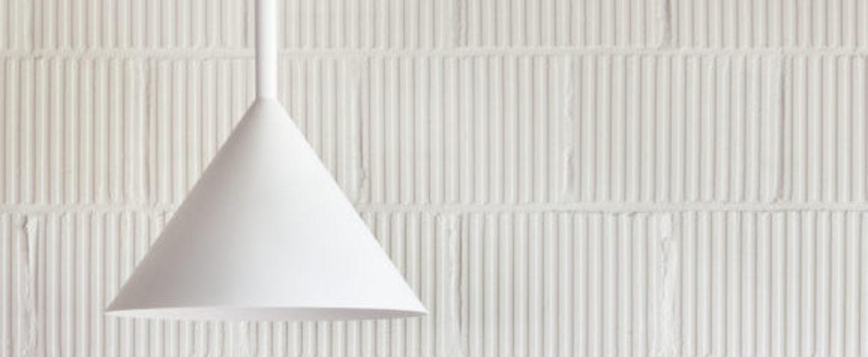 Suspension funnel blanc led o45cm h50cm vertigo bird normal