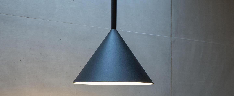 Suspension funnel noir led o45cm h50cm vertigo bird normal