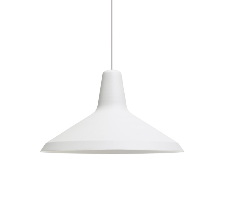 Suspension g10 metal blanc o36cm h21cm gubi 46200 product