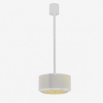 Suspension g13a pierre guariche blanc dimmable o25cm h15cm sammode normal