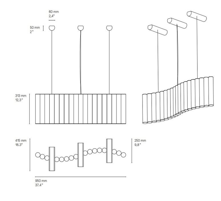 Gamma l19 sylvain willenz suspension pendant light  cvl lugamml19sb  design signed nedgis 117477 product