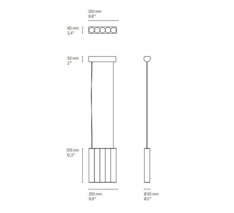 Gamma l5 sylvain willenz suspension pendant light  cvl lugamml5sb  design signed nedgis 118076 product