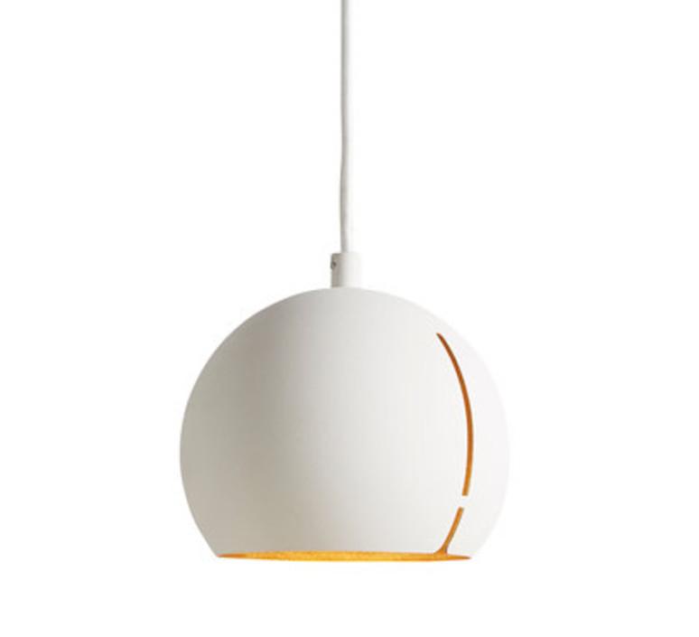 Suspension, Gap pendant round, blanc, ø15cm, H14cm Woud