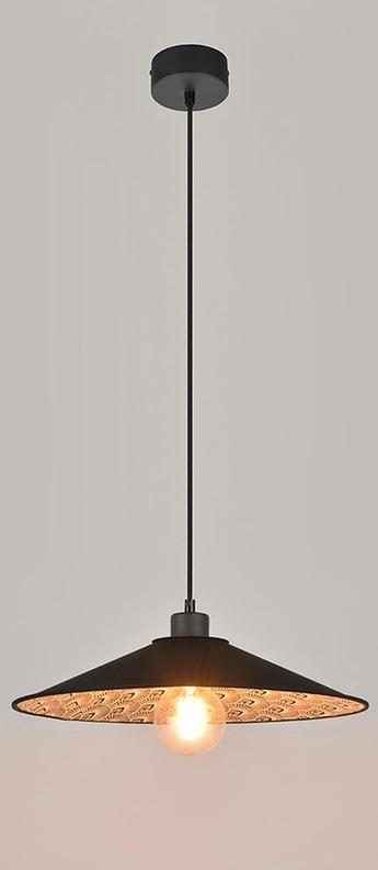 Suspension gatsby paon noir l40cm h150 cm market set normal