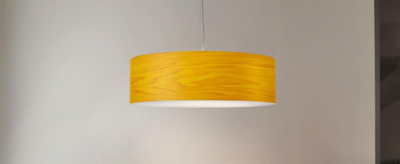 Suspension gea s jaune led o42cm h20cm lzf normal