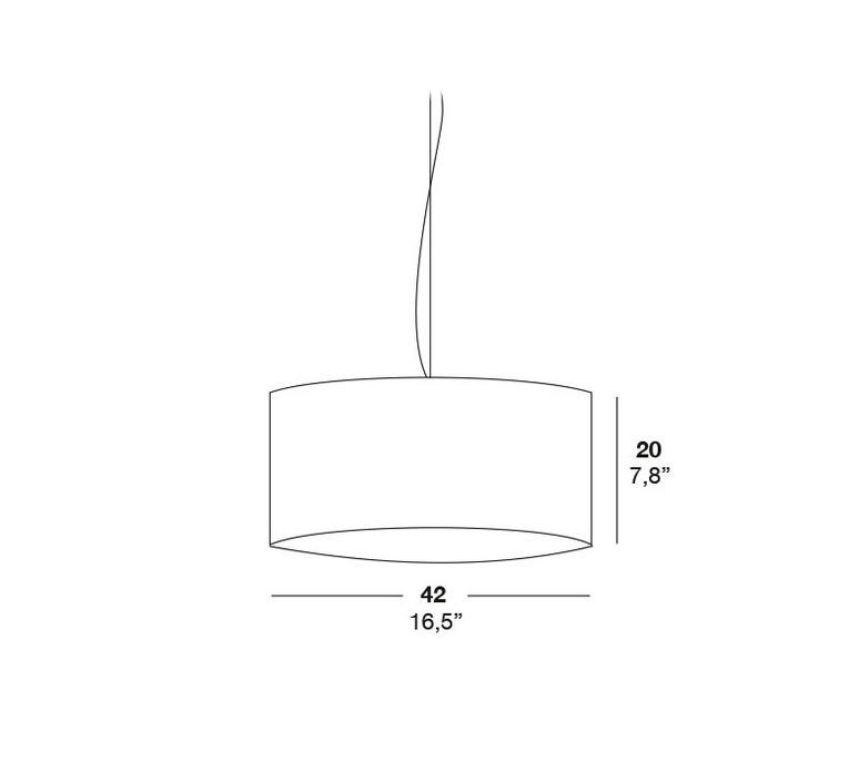 Gea 42 a marivi calvo suspension pendant light  lzf dark g42 a 24  design signed 31223 product
