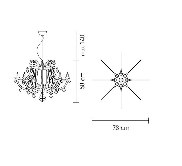 Ginetta nigel coates slamp gin14sos0000le luminaire lighting design signed 17317 product