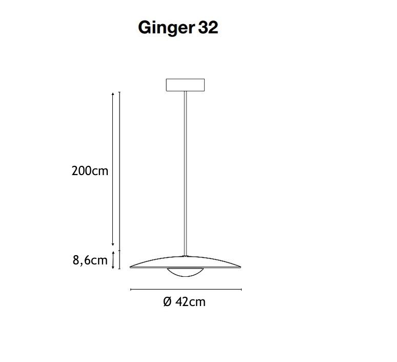 Ginger joan gaspar marset a662 025 luminaire lighting design signed 35203 product