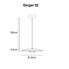 Ginger joan gaspar marset a662 025 luminaire lighting design signed 35203 thumb