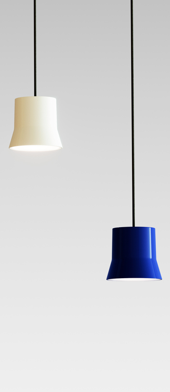 Suspension gio bleu led 3000k 430lm o10 7cm h9 8cm artemide normal