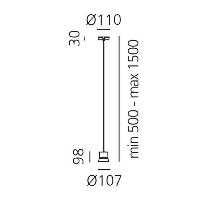 Gio patrick norguet suspension pendant light  artemide 0230050a  design signed 60757 product