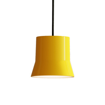 Suspension gio jaune led 3000k 430lm o10 7cm h9 8cm artemide normal
