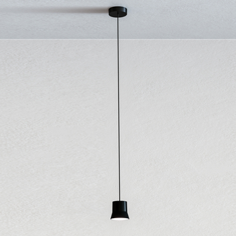 Suspension gio noir led 3000k 430lm o10 7cm h9 8cm artemide normal