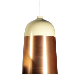 Suspension glaze creme cuivre h51cm innermost normal