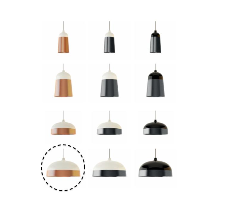Glaze corinna warm innermost pg019180 07 luminaire lighting design signed 12383 product