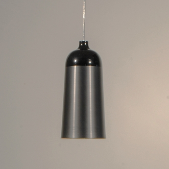 Suspension glaze noir gris anthracite h30cm innermost normal