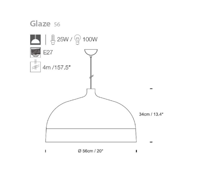Glaze corinna warm innermost pg019180 51 luminaire lighting design signed 12390 product