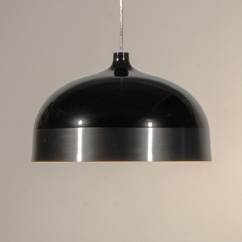 Suspension glaze noir gris anthracite o56cm innermost normal