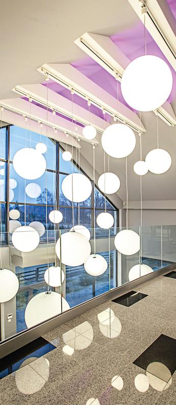 Suspension globo 50 hanging blanc ip55 o50cm h51cm slide normal