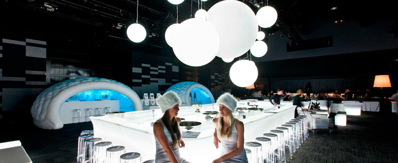 Suspension globo blanc brillant ip55 o80cm h80cm slide normal