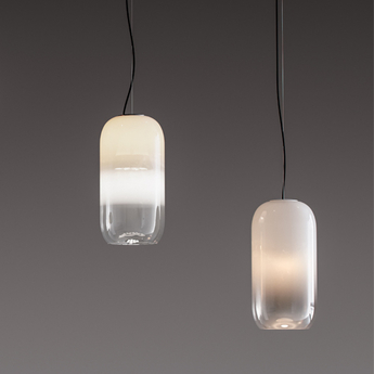 Suspension gople blanc o21cm h42cm artemide normal