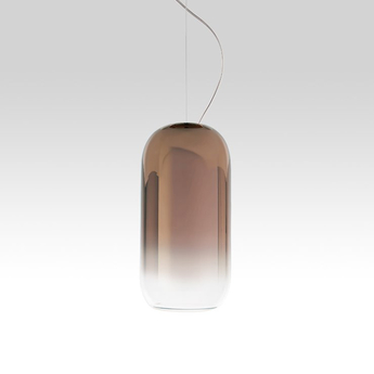 Suspension gople mini bronze o14 5cm h29 3cm artemide normal