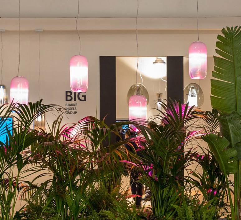Gople rwb bjarke ingels group suspension pendant light  artemide 1407010a  design signed 60695 product