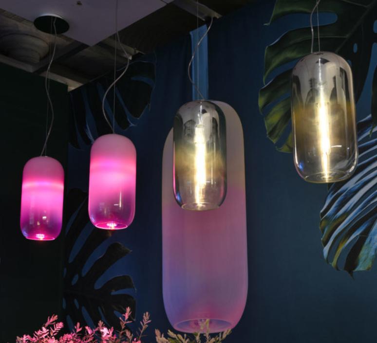 Gople rwb bjarke ingels group suspension pendant light  artemide 1407010a  design signed 60698 product