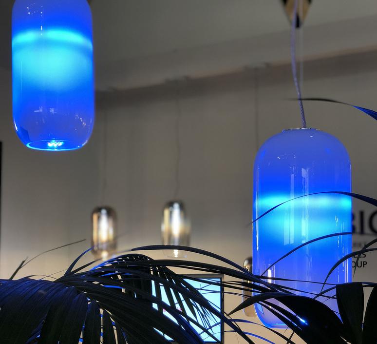 Gople rwb bjarke ingels group suspension pendant light  artemide 1407010a  design signed 60699 product