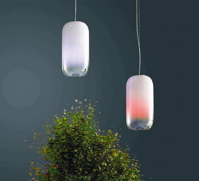 Gople rwb bjarke ingels group suspension pendant light  artemide 1407010a  design signed 60700 product