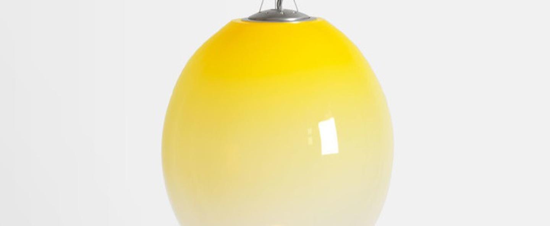 Suspension gradation jaune l20cm h25cm atelier areti normal