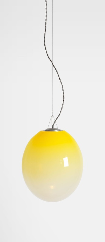 Suspension gradation jaune l30cm h35cm atelier areti normal
