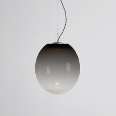 Gradation gwendolyn et guillane kerschbaumer suspension pendant light  atelier areti gradation large black  design signed 44142 thumb