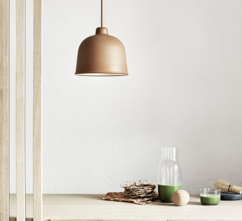Grain jens fager suspension pendant light  muuto 21003  design signed 36183 product