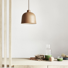 Grain jens fager suspension pendant light  muuto 21003  design signed 36183 thumb