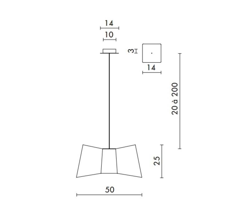 Grand couture emmanuelle legavre designheure s25gctbpdp luminaire lighting design signed 13370 product
