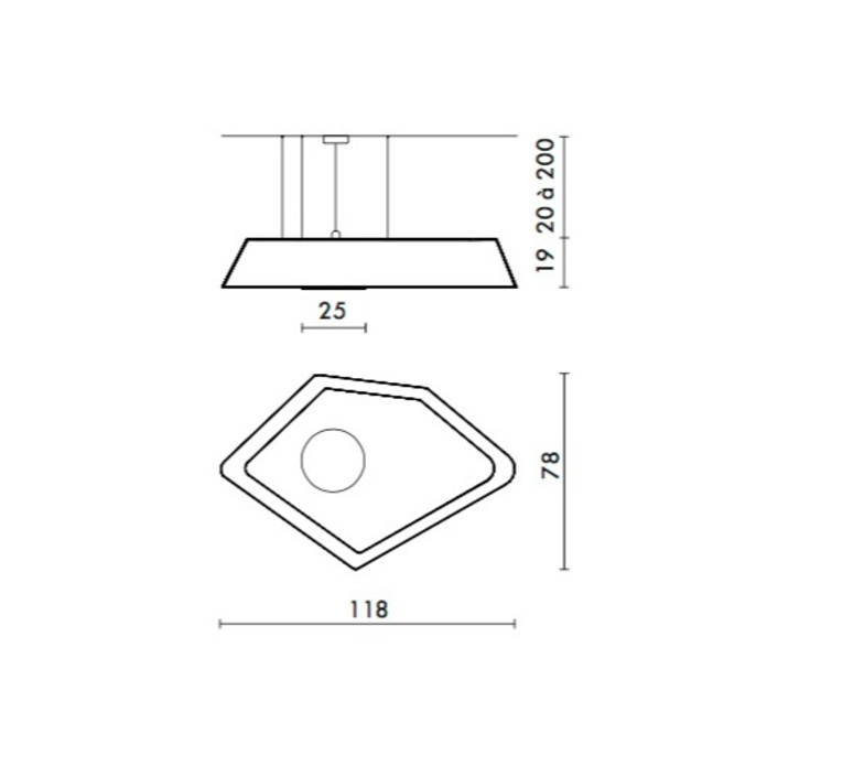 Grand nenuphar led kristian gavoille designheure s118nledgo luminaire lighting design signed 23941 product