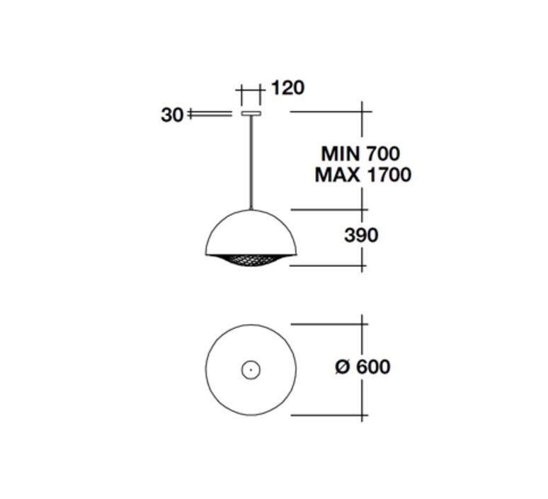 Grid brian rasmussen suspension pendant light  palluco grds120472  design signed 47823 product