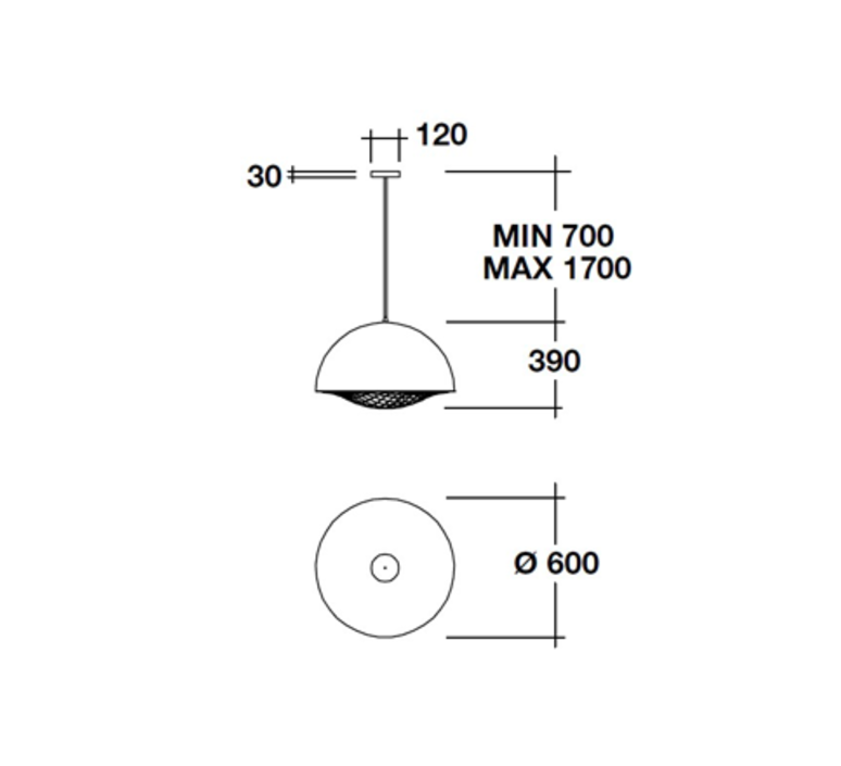 Grid brian rasmussen suspension pendant light  palluco grds120474  design signed 47828 product