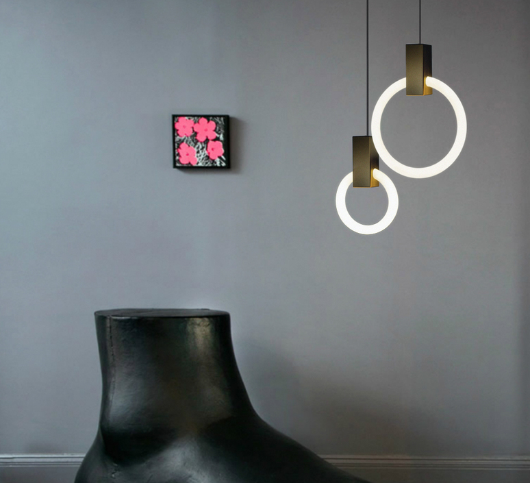 Halo 12 matthew mccormick suspension pendant light  studio matthew mccormick h p12 brb  design signed 53213 product