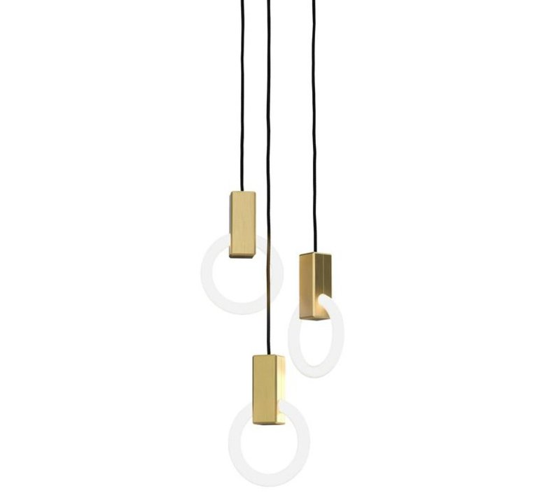 Halo c3 round standard matthew mccormick suspension pendant light  studio matthew mccormick h c3rd s brb  design signed 53239 product