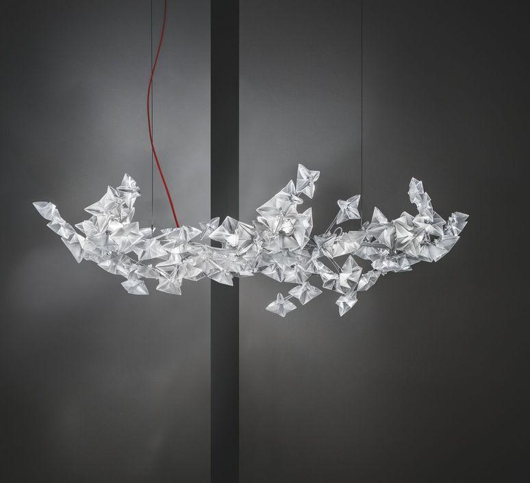 Hanami l adrianno rachele suspension pendant light  slamp han78sos0003le000  design signed 45972 product
