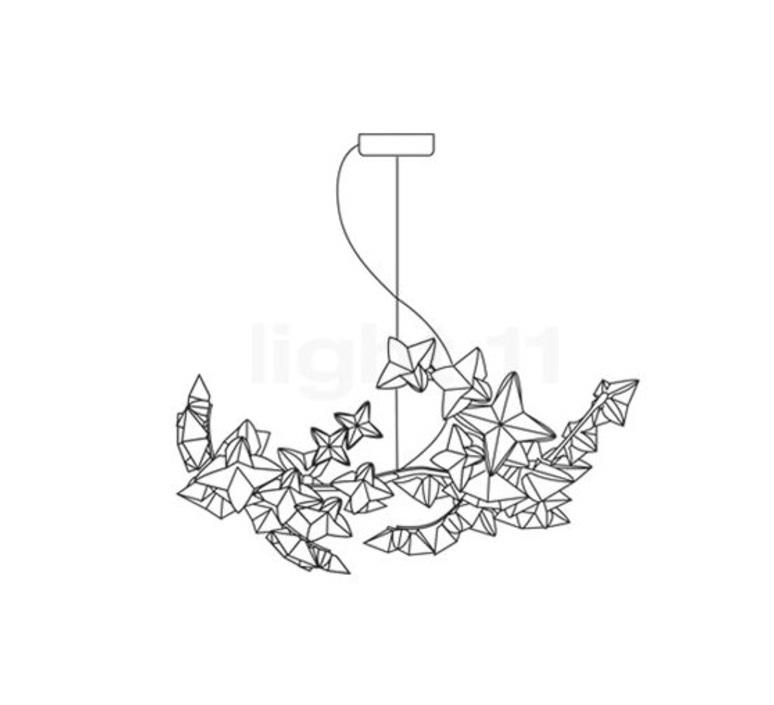 Hanami s adrianno rachele suspension pendant light  slamp han78sos0t00le000  design signed 45986 product