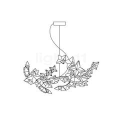 Hanami s adrianno rachele suspension pendant light  slamp han78sos0t00le000  design signed 45986 thumb