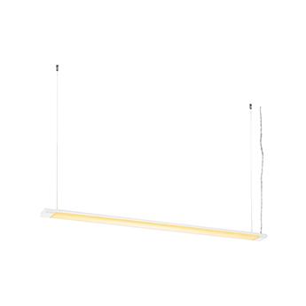 Suspension hang up 120 blanc led 3000k 4000lm l120cm h2 8cm slv normal